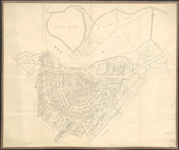 [Plan of Amsterdam]