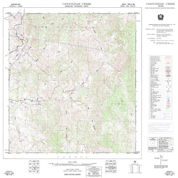 9148-24 Cannindah Creek edition 1