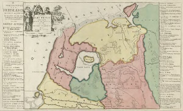 Descriptio Agri Frisii Antiqvi Aliorumque trans Rhenvm qui hodie sunt in dicione VII. Foederatorvm