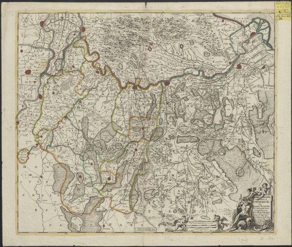 Comitatus Zutphaniae sive Geldriae Tetrachiae Zutphaniensis Isalaeque fluvii correctissima descriptio