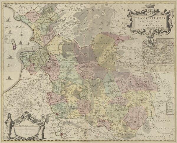 Transisalania Provincia vulgo Over-Yssel