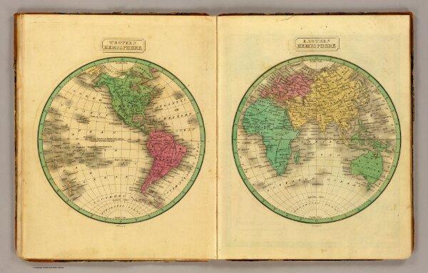 W. Hemisphere, E. Hemisphere.