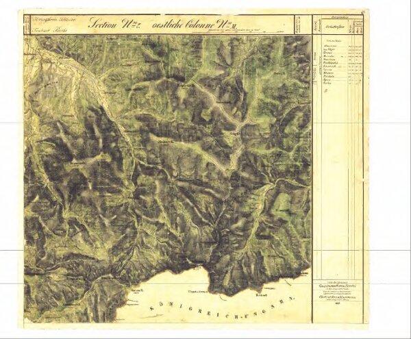II. vojenské (Františkovo) mapování - Morava, mapový list O_7_XI