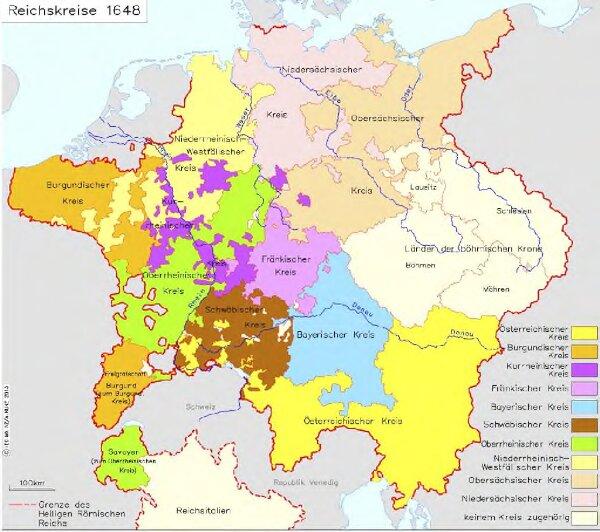 Reichskreise 1648