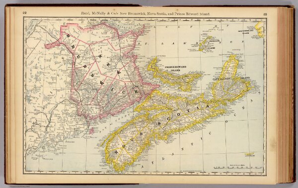 New Brunswick, Nova Scotia, and Prince Edward Island.
