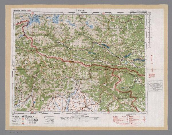 Udine. Sheet L 33/4 1st. Edition