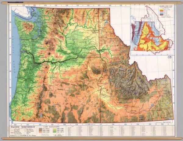 Northwest United States -- Physical