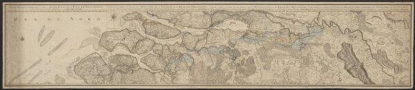 Carte particuliere de la plus grande partie de l'isle de Walcheren